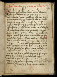 Document Relating To Lennel, In The Coldstream Cartulary